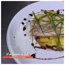 cote cuisine julie andrieu recettes bar en croûte d argile et pommes de terre rôties au lard de thierry