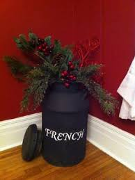 Old Milk Can Decorating Ideas Old Milk Can Christmas Decor Christmas Pinterest Christmas