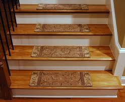 Home Interior Image Stair Home Interior Design With Brown Wooden Tread Covers And