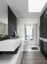 Pictures Of Black  White Bathrooms  Modern Minimalist Black - Bathroom minimalist design