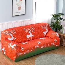 sofa hussen stretch sofa hussen weihnachten elch gedruckt stretch polyester fibre sofa