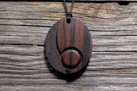 wood pendants necklace images Tamago no 1 cerris design studio fine hand carved wooden jpg
