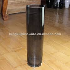 Colored Vases Wholesale Handblown Colored Glass Vases Cheap Tall Cylinder Glass Vases