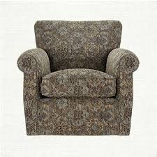 duvall upholstered swivel glider chair in tanook spa arhaus