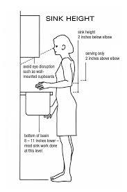 Standard Height Bathroom Vanity by Standard Height For Bathroom Vanity Livingston Bath Vanity Light