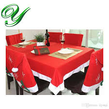 cloth chair covers tablecloths chair cover set christmas decoration table cloth