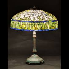 Stained Glass Light Fixtures Tiffany Tulip Stained Glass Lamp Shade Nicholas Wells Antiques