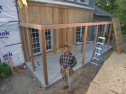 how to assemble a pre engineered porch system how tos diy