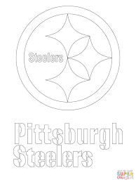 steelers coloring page coloring pages for kids online 9673