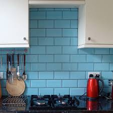 blue kitchen tiles euston square blue tiles mini metro 150x75 tiles 150x75x7mm tiles