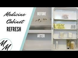 can you paint a metal medicine cabinet 31 diy how to refresh a rusted medicine cabinet