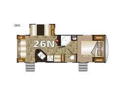 nash travel trailer floor plans new northwood nash 26n travel trailer for sale review rate
