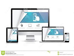 Homepage Design Concepts Website Styling Coding Concept Realistic Vector Illustration