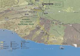 Map Of Big Island Hawaii Big Island Map Guide Map Of The Central Portion Of Hawaii