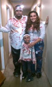 homemade halloween costumes 2012 the zombie family old
