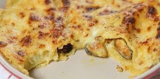 comment cuisiner des moules surgel馥s lasagnes aux moules facile et pas cher recette sur cuisine actuelle