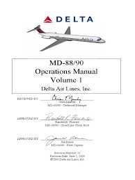 md 88 and 90 operations manual vol 1 alternating current aircraft