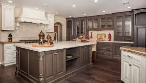 breathtaking two toned kitchen cabis pictures options tips floor