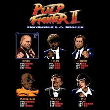 Pulp Fiction Memes - pulp fighter ii tshirtvortex