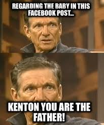 Create Facebook Meme - meme creator regarding the baby in this facebook post kenton