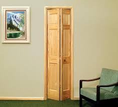 Pine Bifold Closet Doors 6 Pnl Unfinished Pine 2 Leaf Bi Fold Door 32 X 80 At Menards
