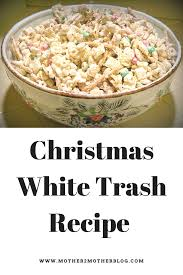 white trash or christmas crunch is the perfect snack or gift idea