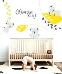 stickers chambre bébé mixte les plus beaux stickers muraux pour la chambre de bacbac les plus