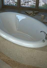 36 x 60 oval soaking drop in bathtub soaker tub with
