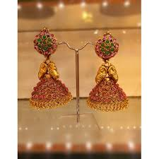 craftsvilla earrings buy traditional temple jewellery jhumkas online shopping for
