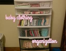 baby clothing organization and storage on a budget youtube