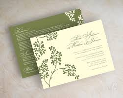 rustic italian wedding invitations wedding invitation sample