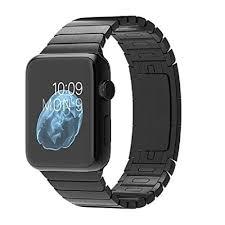 ceramic link bracelet images Apple watch 42mm 316l space black stainless steel jpg