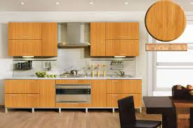 bamboo cabinets dream kitchen pinterest red oak floors