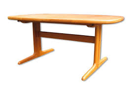 danish extendable oval teak dining table from skovby 1970s for