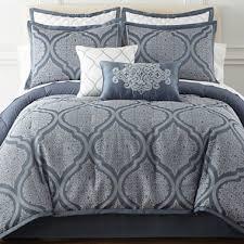 Jcpenney Bed Set Royal Velvet Mona 8 Pc Comforter Set U0026 Accessories Jcpenney