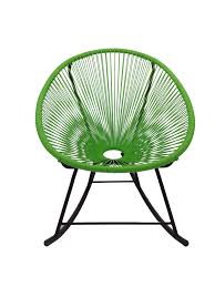 Acapulco Chair Replica Replica Acapulco Rocking Chair Green