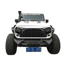 jeep wrangler front grill upgrade angry bird front w7 white grill grille hood for 11 17 jeep