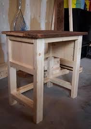 ana white farmhouse nightstand ana white mini farmhouse bedside