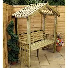 winchester trellis arbour seat u2013 the uk u0027s no 1 garden furniture store