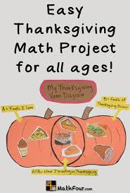 thanksgiving venn diagram free mathfour