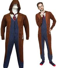 doctor who pajamas 10th doctor raggedyfan