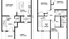Two Story Simple House Plans With Detached Garage Designs Adelaide New House Plans Adelaide