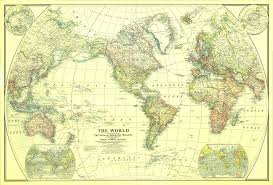 Picture Of The World Map File 1922 World Map Png Wikimedia Commons