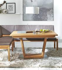 Esszimmertisch Wildeiche Lena Design Tisch Schräges Gestell Wildeiche Kernbuche Nuß