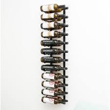 vintageview 24 bottle metal wall mounted wine rack u0026 reviews