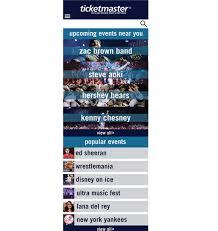 ticketmaster floor plan ticketmaster redesign