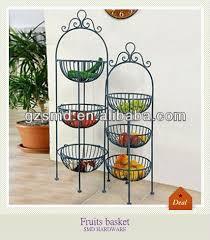 fruit basket stand kitchen wrought iron 3 tier fruit basket stand buy 3 tier fruit