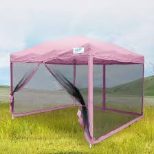 Steel Pop Up Gazebo Waterproof by Quictent 10x10 8x8 Pop Up Gazebo Party Tent Canopy Mesh Screen
