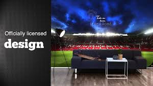 stars on walls manchester united wall murals youtube