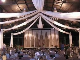 Celing Drapes Discover Draping Designs Completely Transform Your Wedding Venue